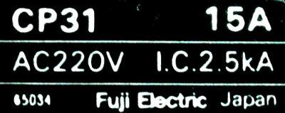 Fuji CP31-15A-W label image