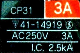 Fuji CP31-3A label image