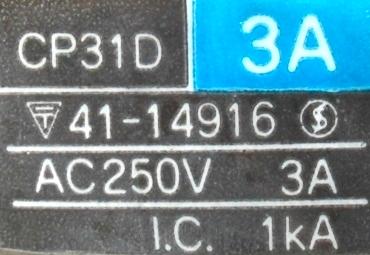 Fuji CP31D-3A label image