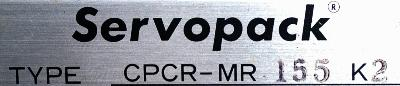 Yaskawa CPCR-MR155K2 label image