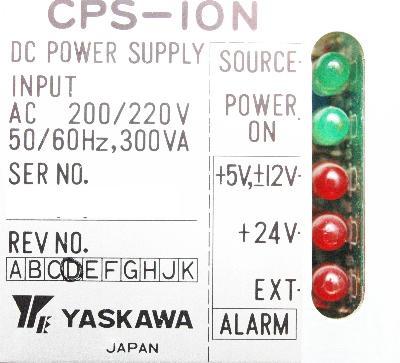 Yaskawa CPS-10N label image
