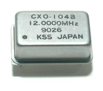 Kyocera Kinseki Corporation CXO-104B-12.0000