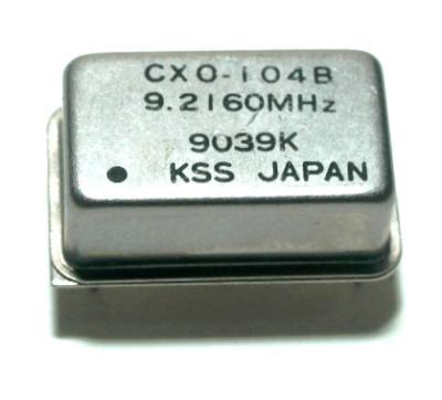 Kyocera Kinseki Corporation CXO-104B-9.2160