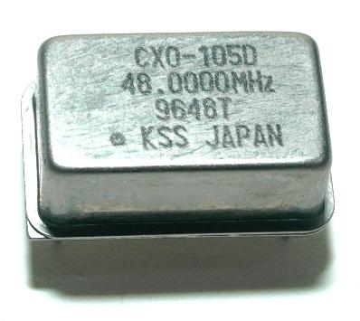 Kyocera Kinseki Corporation CXO-105D-48.0000