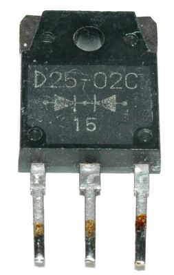INTERNATIONAL RECTIFIER D25-02C