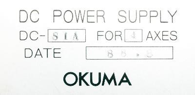 Okuma DC-S1A-4 label image