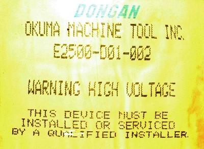 Dongan E2500-001-002 image