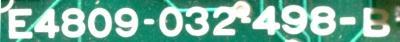Okuma E4809-032-498-B label image