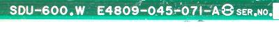 Okuma E4809-045-071-A label image