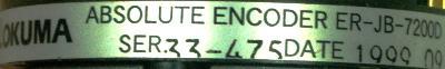 Okuma ER-JB-7200D label image