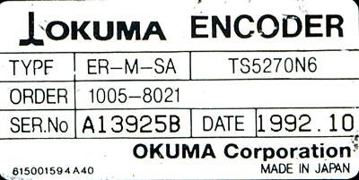 Okuma ER-M-SA label image