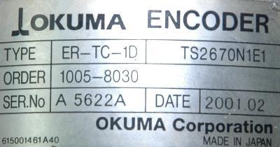 Okuma ER-TC-1D label image
