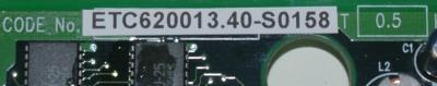 Yaskawa ETC620013.40-S0158 label image