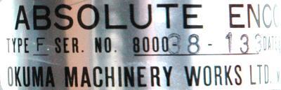 Okuma F-Okuma-encoder label image