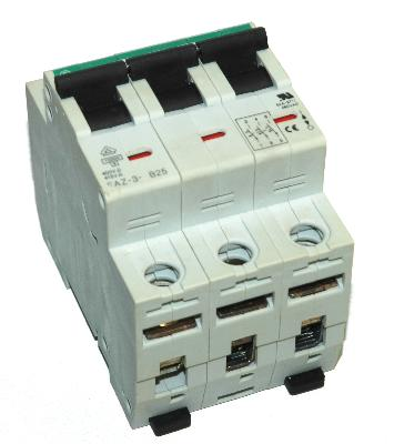 Moeller Electric Corporation FAZ-3-B25