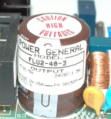 Power General FLU2-40-3 label image