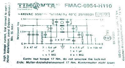 SCHURTER FMAC-0954-H110 image