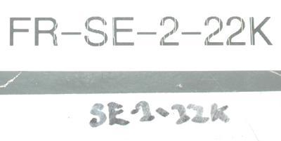 New Refurbished Exchange Repair  Mitsubishi Drives-AC Spindle FR-SE-2-22K Precision Zone