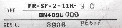 Mitsubishi FR-SF-2-11K-BC label image