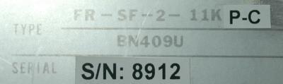 Mitsubishi FR-SF-2-11KP-TC label image