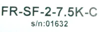 Mitsubishi FR-SF-2-7.5K-C label image