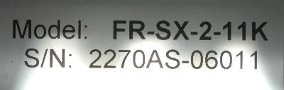 Mitsubishi FR-SX-2-11K label image