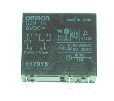 Omron G2R-14-6VDC