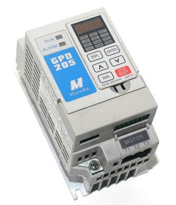 New Refurbished Exchange Repair  Magnetek Inverter-General Purpose GPD205-A0P2 Precision Zone