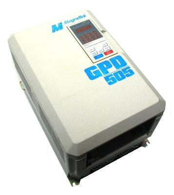 New Refurbished Exchange Repair  Magnetek Inverter-General Purpose GPD505V-B027 Precision Zone