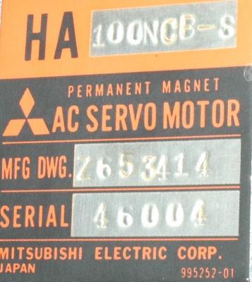 Mitsubishi HA100NCB-S label image