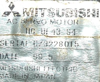 Mitsubishi HC-UF43-S4 label image