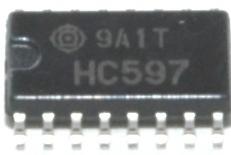 Hitachi Semiconductor HC597