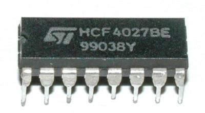 STMicroelectronics HCF4027BE