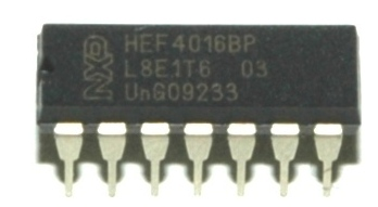 NXP Semiconductors HEF4016BP