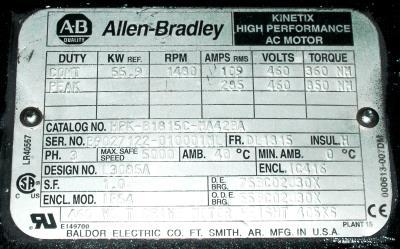 Allen-Bradley HPK-B1815C-MA42BA Motors-AC Servo