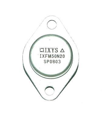 IXYS CORPORATION IXFM50N20
