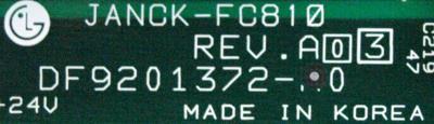 Yaskawa JANCK-FC810 label image
