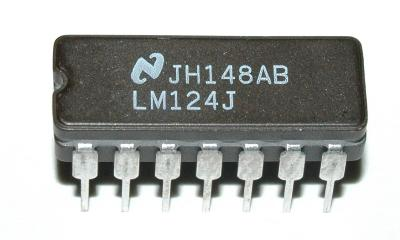 National Semiconductor LM124J