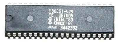 OKI Electric M80C51-579