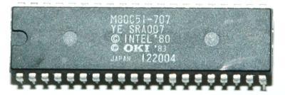 OKI Electric M80C51-707