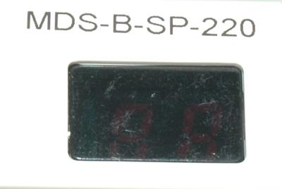 Mitsubishi MDS-B-SP-220 label image