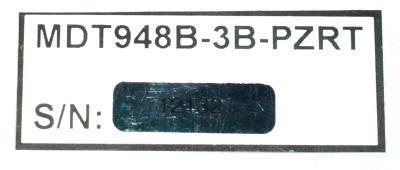 Totoku Electric MDT948B-3B-PZRT label image