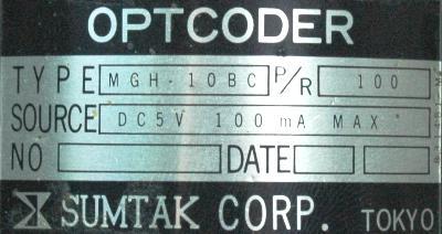 Sumtak MGH-10BC label image
