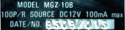 Sumtak MGZ-10B label image