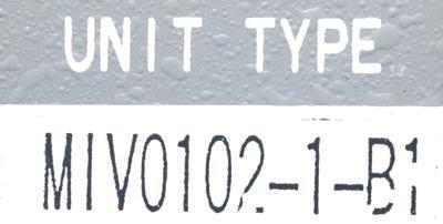 Okuma MIV0102-1-B1 label image