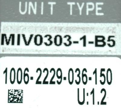 Okuma MIV0303-1-B5 label image