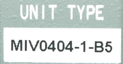 Okuma MIV0404-1-B5 label image