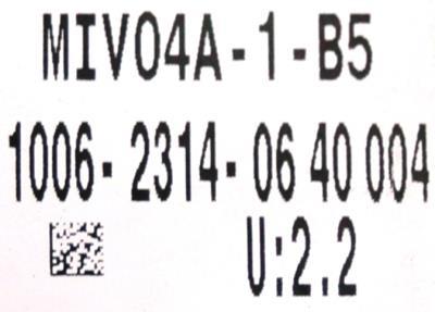 Okuma MIV04A-1-B5 label image