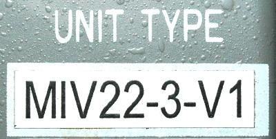 Okuma MIV22-3-V1 label image