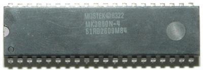 Mostek Corporation MK3880N-4